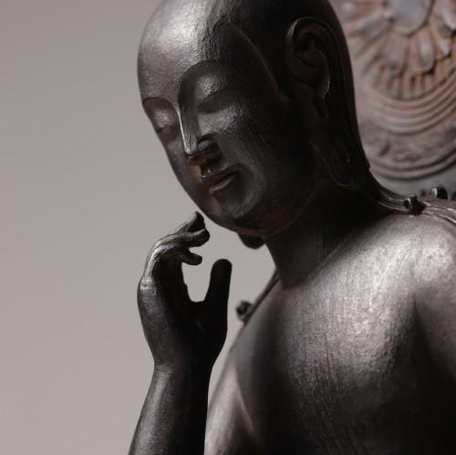 イスム 菩薩半跏像