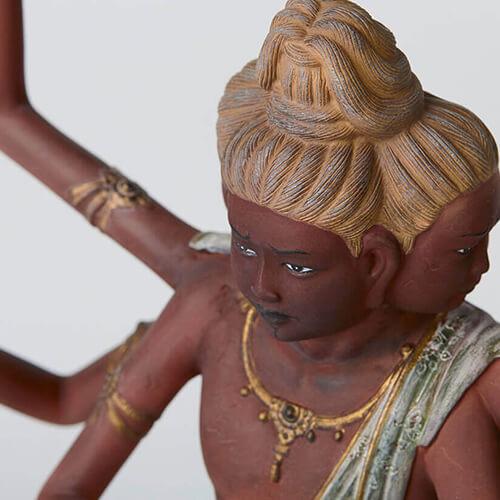 流通量わずか150体の幻の阿修羅像。MORITA50周年を期に限定復刻!