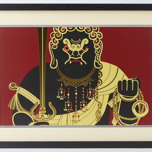 イスム アートライブラリイスム HAKUジクレ pop'n Buddha 不動明王