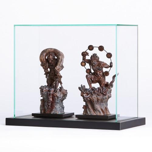 TanaCOCORO[掌] ガラスケースTW(2体用)