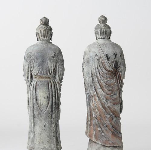 イスム 伝日光菩薩立像・伝月光菩薩立像