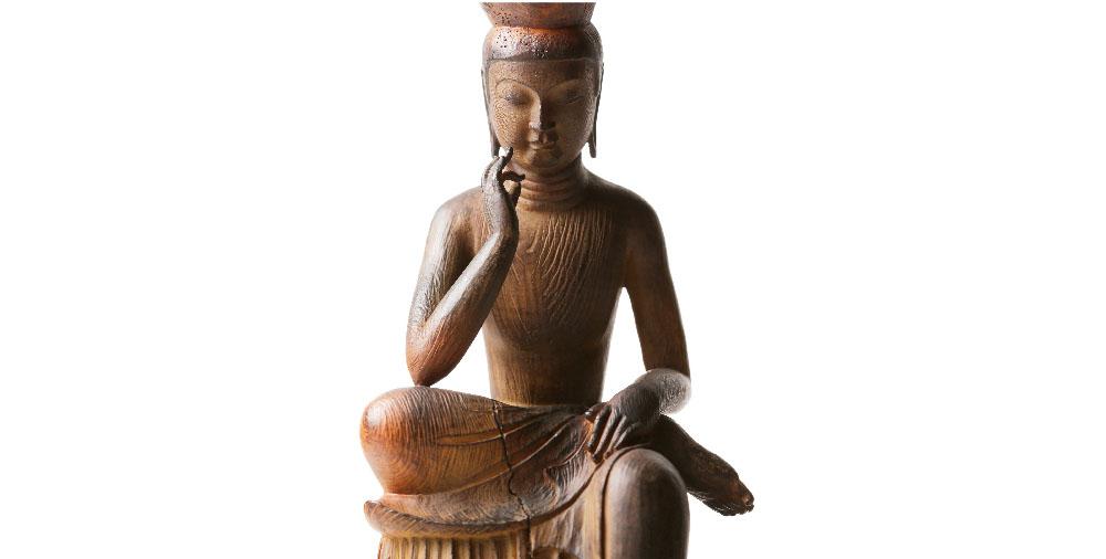 TanaCOCORO[掌] 弥勒菩薩 国宝第一号 美しい曲線の美