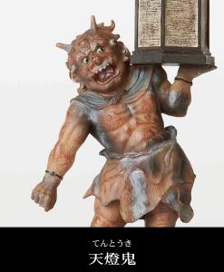 天燈鬼の仏像フィギュア