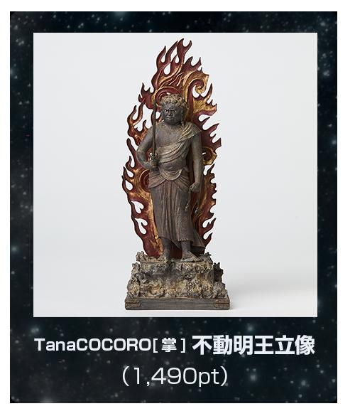 イスムの明王・全員集合キャンペーン TanaCOCORO[掌] 不動明王立像